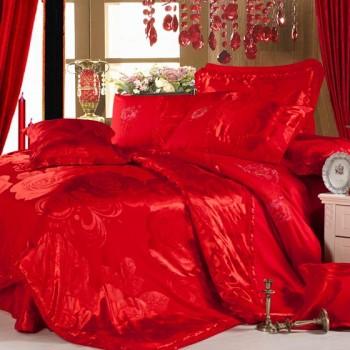 嘉恋奢华寝居天丝床品12件套加赠组 驼色
