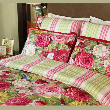 富安娜家纺独家橱窗款典雅六件套 粉色